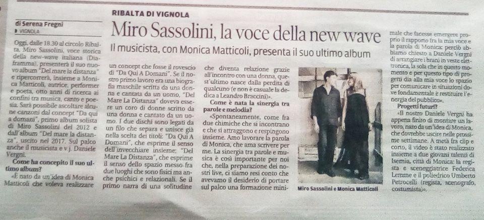 Intervista Gazzetta di Modena (3)